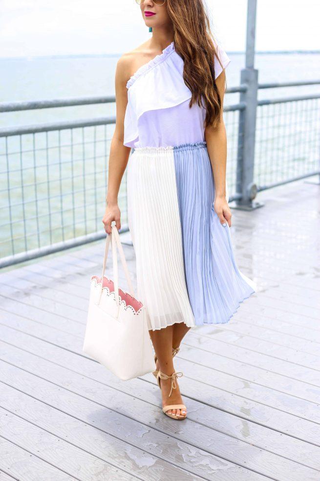 Pleated Skirt for Summer