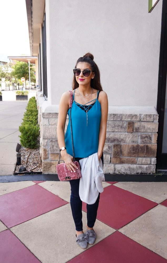 Crisscross Cami Wear Now or Where Later for Fall