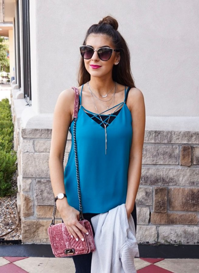 Crisscross Cami for All Year Long