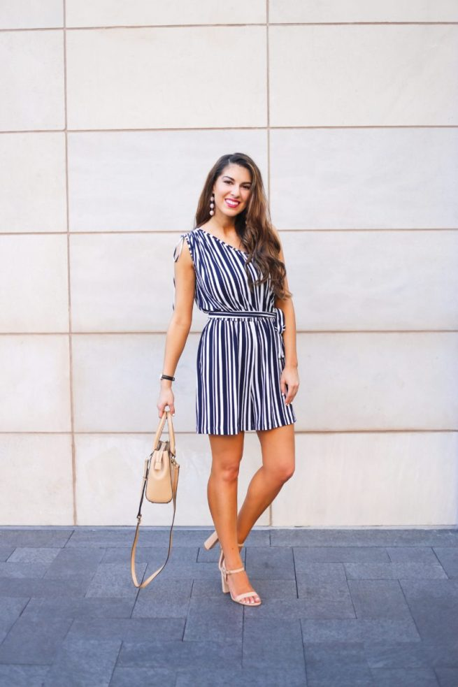 Stripe Romper for Summer