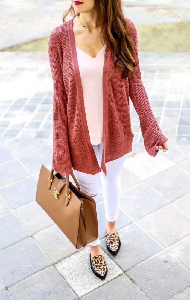 Bell Sleeve Cover Up and Fall Fashion Style