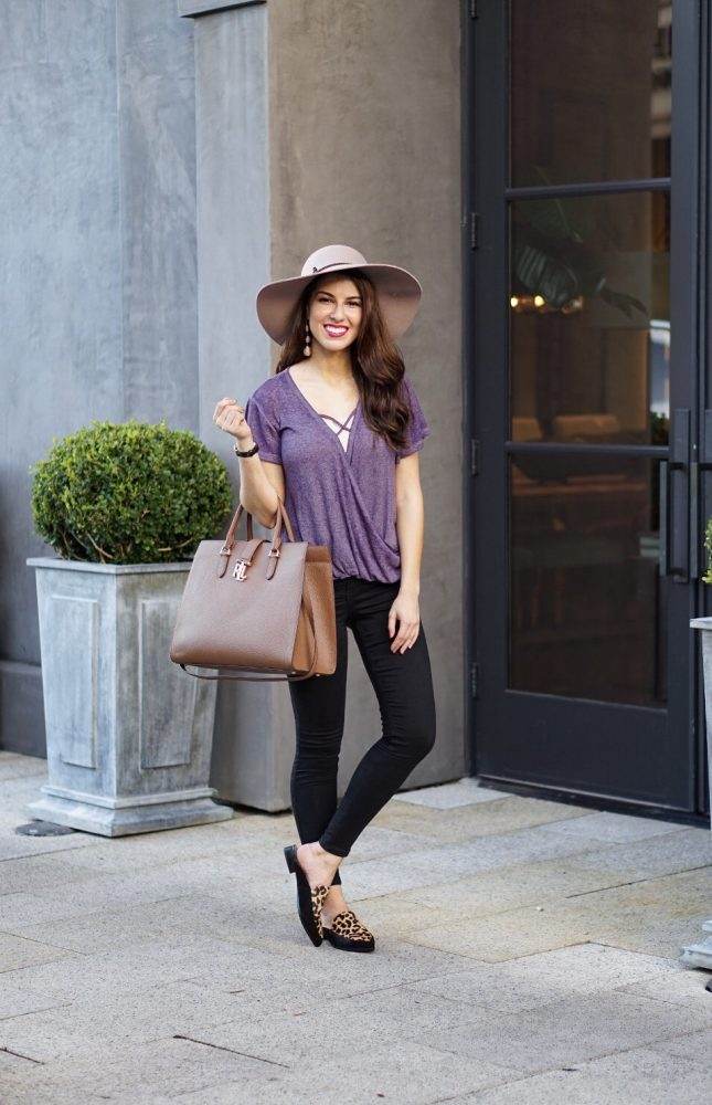 Crossover Tee Fall Style