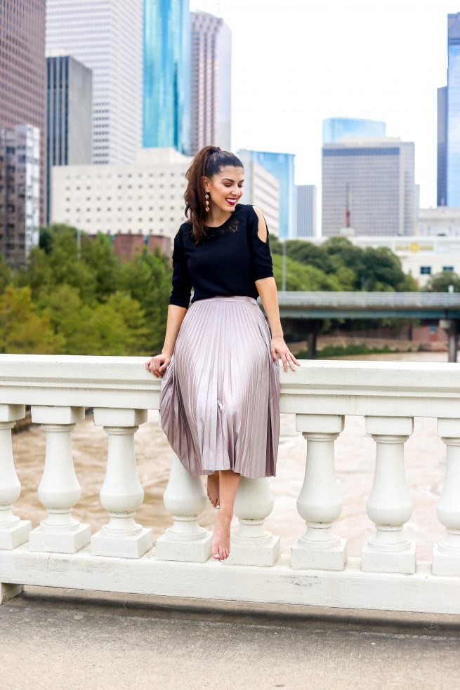 Pleated Skirt You Can Wear All Year