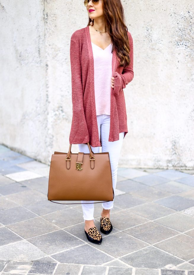 The Best Bell Sleeve Cardigan for Fall