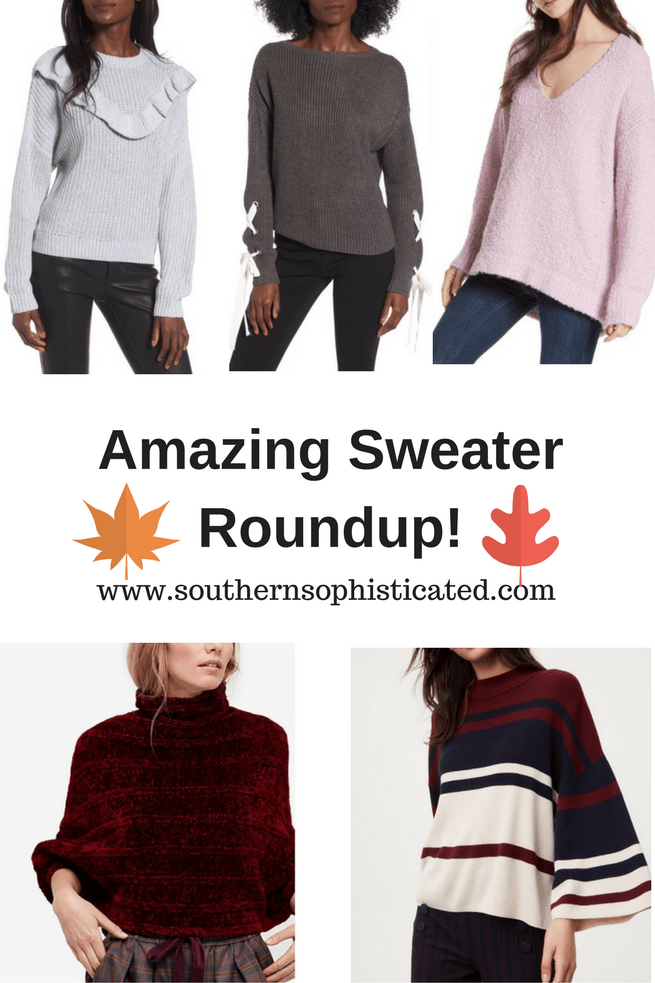 Amazing Sweater Roundup for Fall and Winter