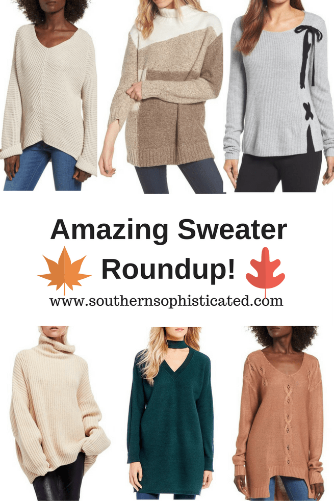 Amazing Sweater Roundup for Fall and Winter Season