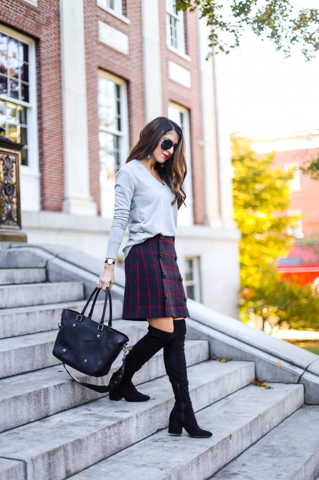 How to Dress Up Plaid for Fall