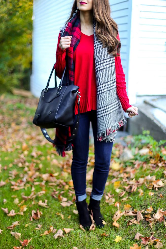 Perfect Red Sweater for Fall and Winter