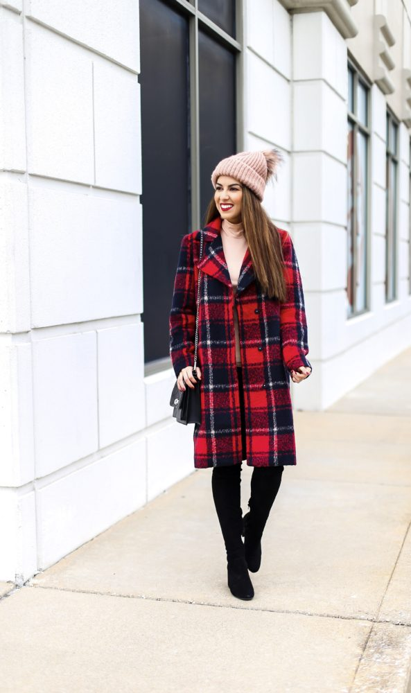 Gorgeous Plaid Coat for Winter