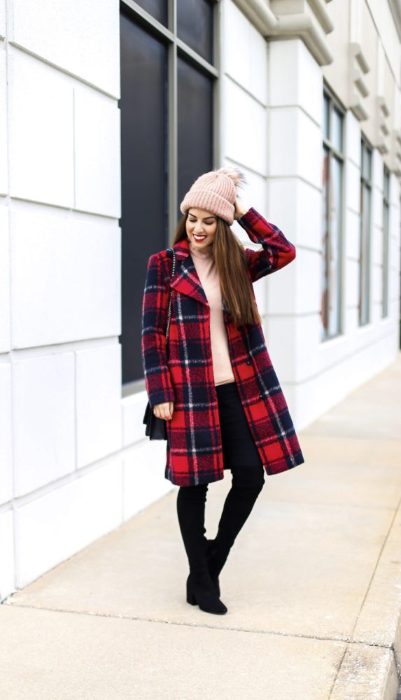 Plaid Coat for Winter Style