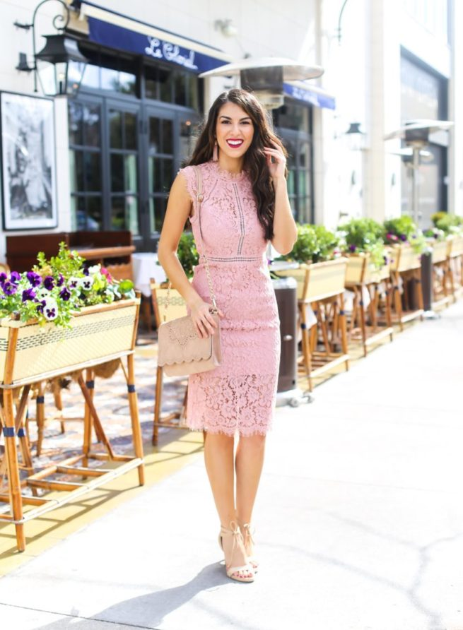 Gorgeous Lace Sheath Dress