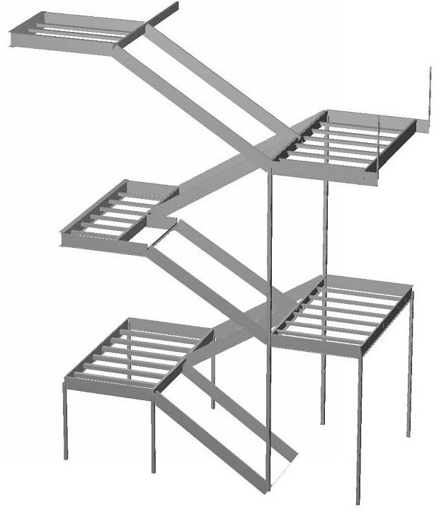 Steel Stair Design | Southern Steel Engineers