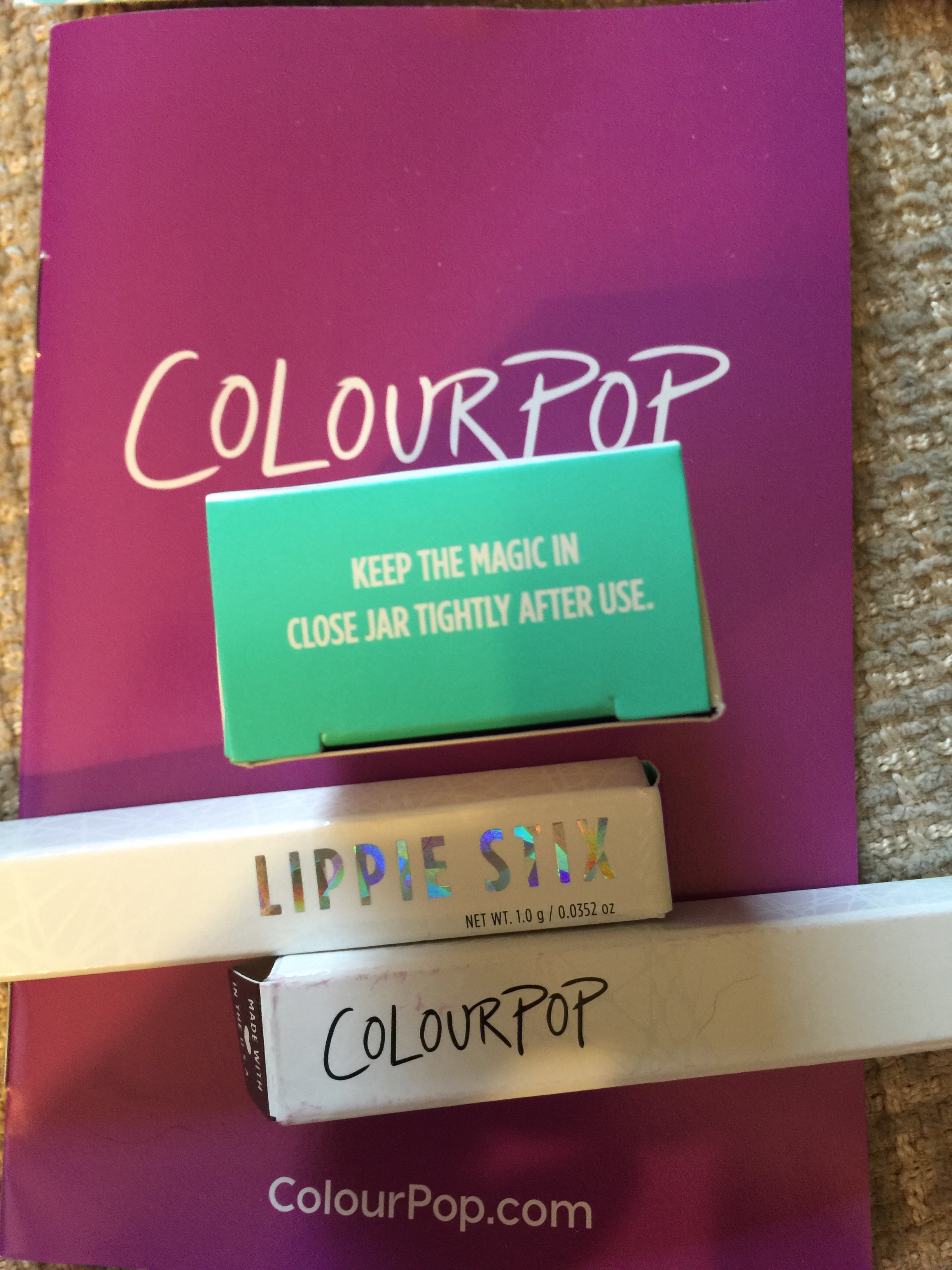 Colourpop first impressions