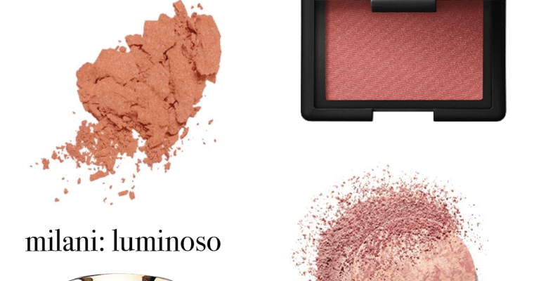 Best blushes for fall
