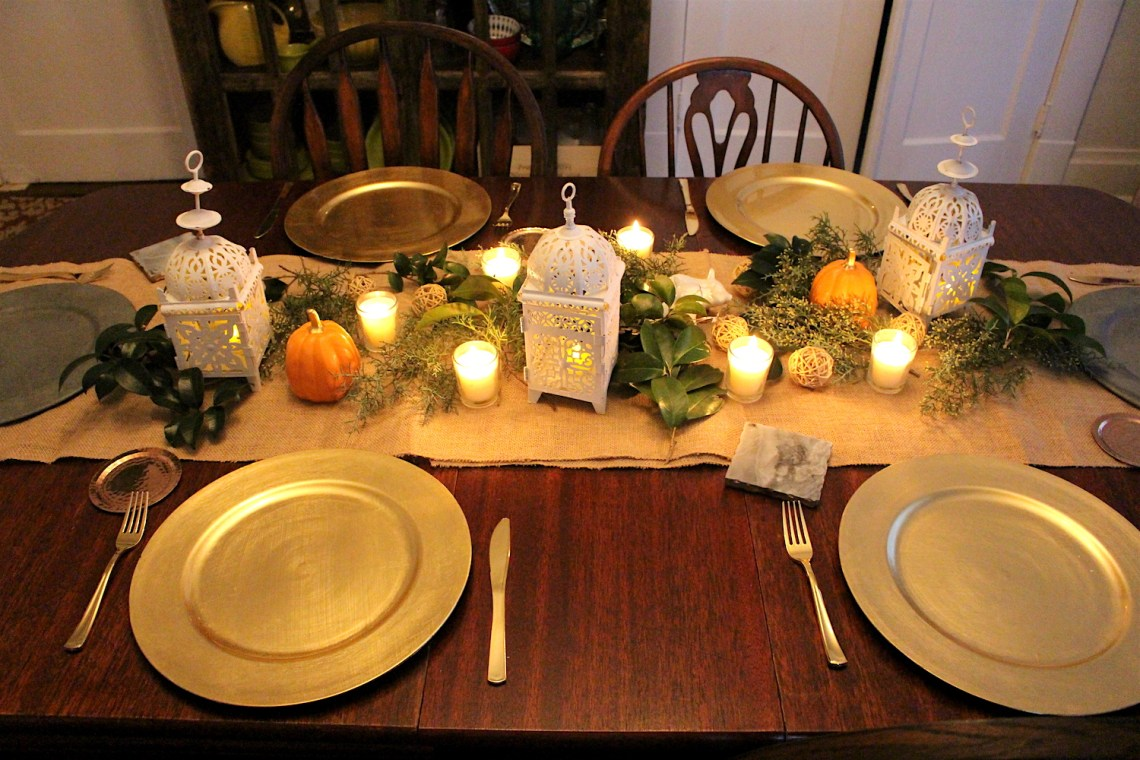 table, Thanksgiving, Thanksgiving table, tablescape, Southern Style Diaries