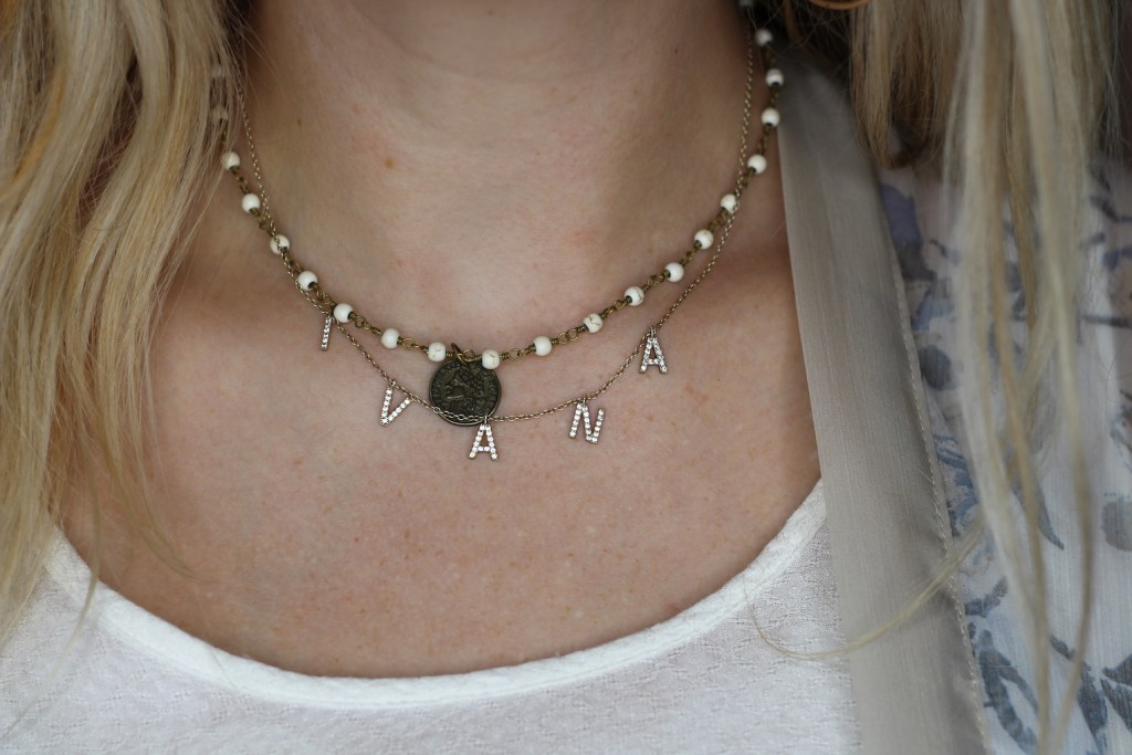 How to style dainty necklaces