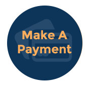 Make A Payment icon blue - Home