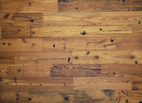 Antique Reclaimed Heart Pine Wide Plank Engineered