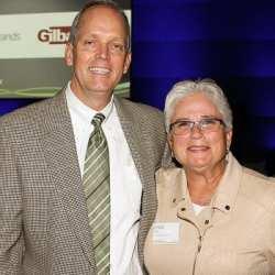 Bill Campbell and Linda Bolen of Columbia Property Trust