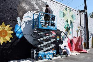 Jose Arenas mural