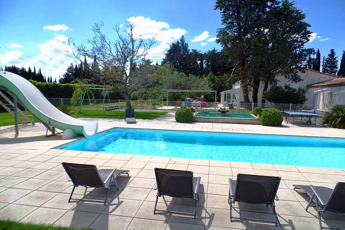 South Of France Modern Villa With Pool To Rent Near Nimes And Montpellier