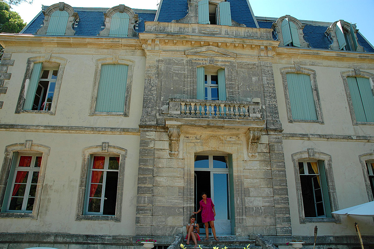 South Of France Holiday Chateau With Pool And Tennis To Rent