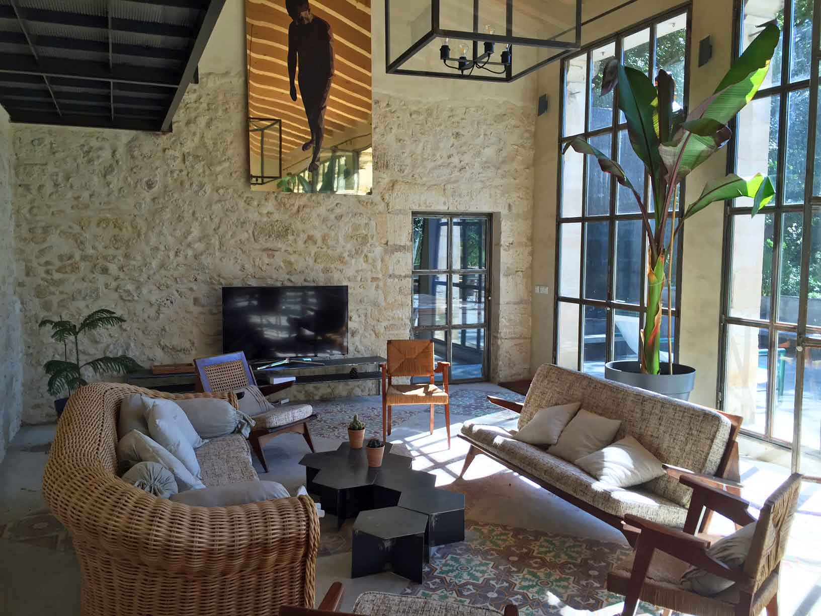 Languedoc Holiday Villa to rent with pool for 6 near Beziers