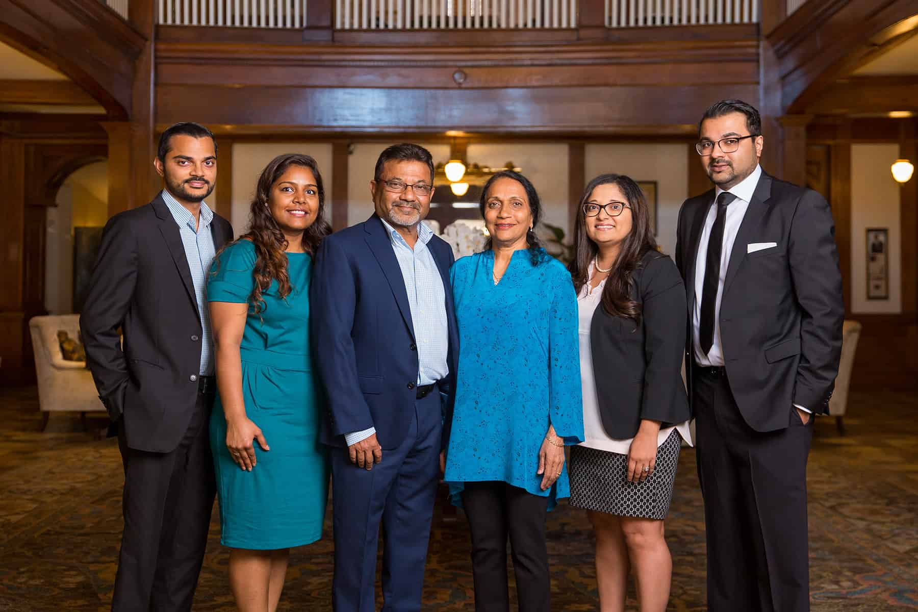 Sharad Patel and his family have made their home in Americus.