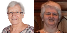 Joyce Lettis & Shelagh Johnstone
