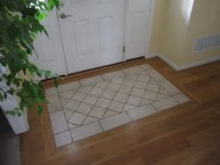 Tile Rug Entry | South House Designs