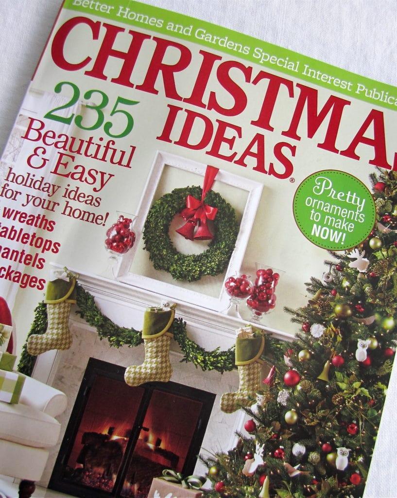 Better Home & Gardens Christmas Ideas 2013 South House Designs