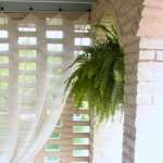 How To Hang Outdoor Sheer Curtains South House Designs