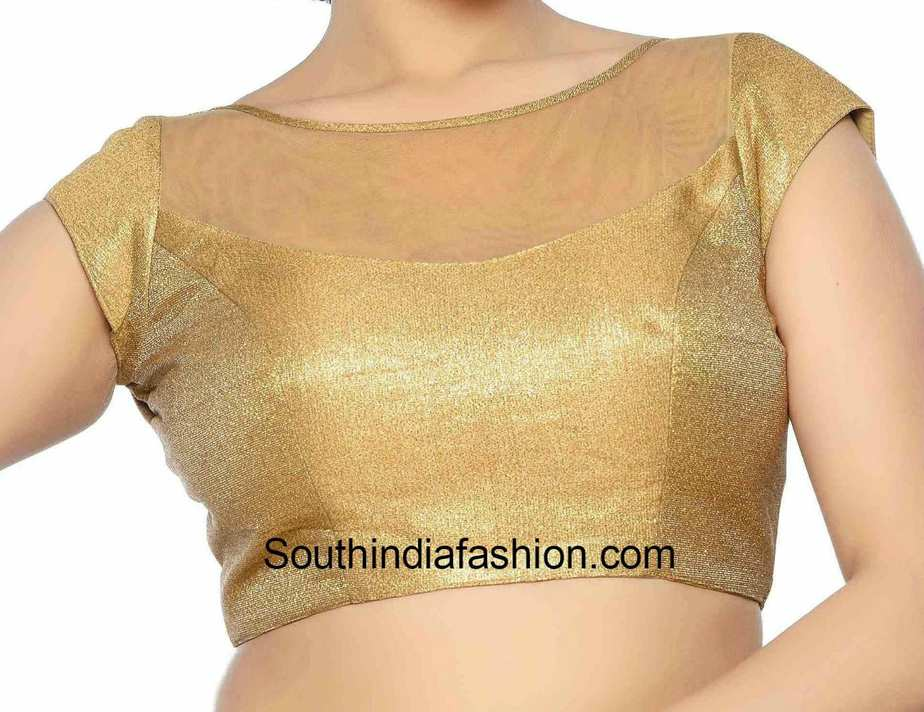 Boat Neck Blouse Designs Front And Back Images Trending Blouse Designs Pattern For Every Indian Woman Discover The Latest Best Selling Shop Women S Shirts High Quality Blouses,Latest Mangalsutra Designs Only Gold With Price