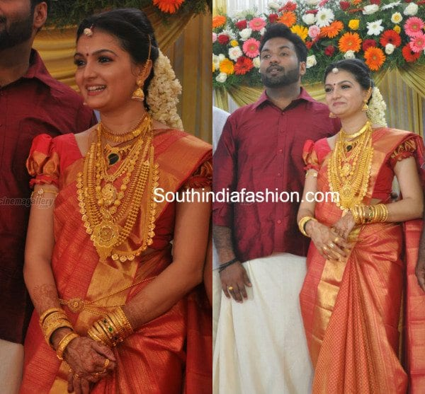 Saranya Mohan Aravind Krishnans Wedding And Reception
