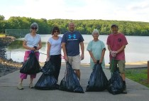 crescent lake cleanup