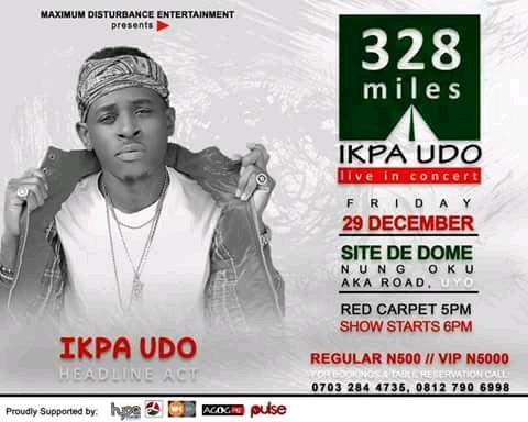 """Event: Ikpa Udo #328Miles"""" [Live in Concert December 29] // @Ikpa_Udo"""
