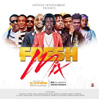 Mixtape: Dj Jayfresh – Fresh Mix Vol 1