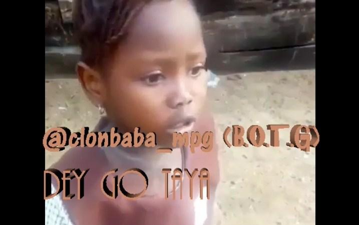 Comedy: Clonbaba – Dem Go Taya // @clonbaba_mpg