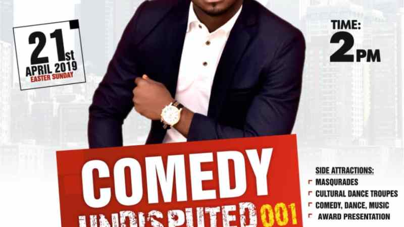 Event: Comedy Undisputed 001 #TheCultural With Fides I DI OK