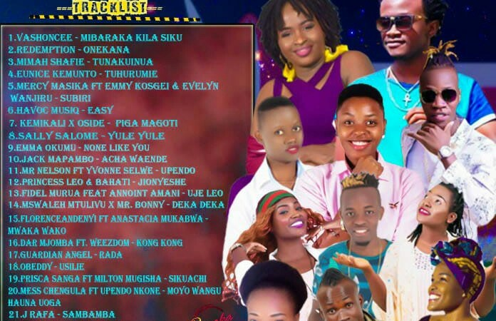 MIXTAPE: VJ Spice Kenya – Mzuka Kibao Gospel Mix VOL 5