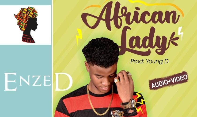 ENZED-AFRICAN LADY ARTWORK