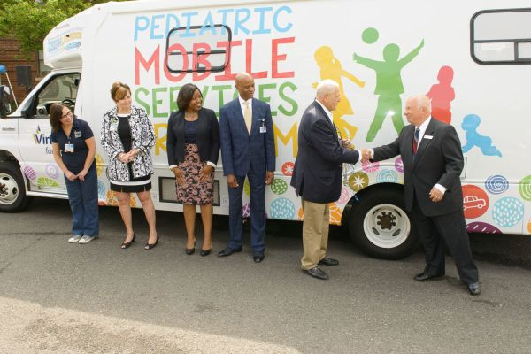 Virtua Pediatric Mobile Services Unit