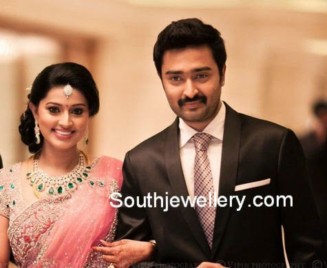 Actress Snehas Complete Wedding Jewellery Jewellery Designs