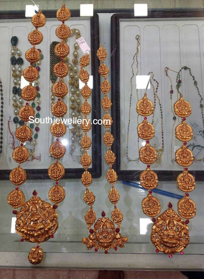 Light Weight Temple Jewellery Jewellery Designs