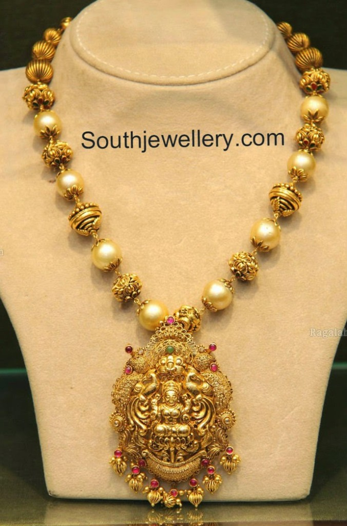 South Sea Pearls Necklace Latest Jewelry Designs