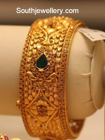 Uncut Diamond Bangles Latest Jewelry Designs Jewellery