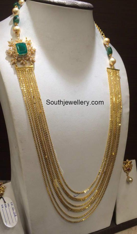Chandraharam Latest Jewelry Designs Jewellery Designs