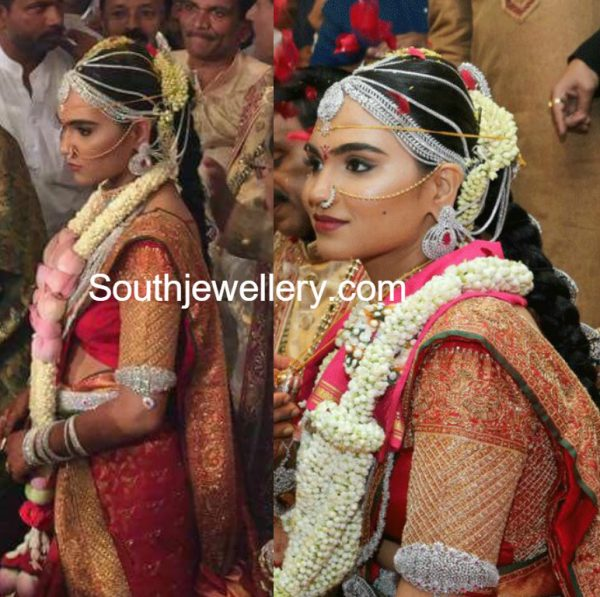 Gali Janardhan Reddy Daughter Brahmanis Wedding Jewellery  Jewellery Designs