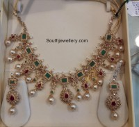 Uncut Diamond Necklace latest jewelry designs