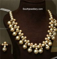 South Sea Pearls Necklace - Jewellery Designs